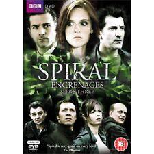 Spiral Series 3 TV Season Three Region 4 New DVD (3 Discs)