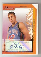 David Lee 05/06 Bowman Signs of the Future Auto RC #SOF-DL