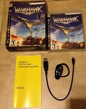Warhawk complete in case w/ manual & Bluetooth Headset + Box PS3 PlayStation 3