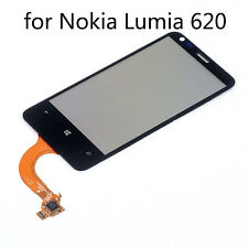 Replacement TP Touch Screen Digitizer Glass Lens Panel for Nokia Lumia 620 Black