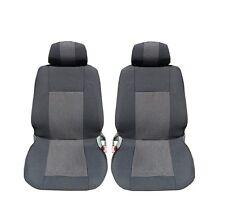 2x Sitzbezüge vordere Schonbezüge Schwarz LUX für Subaru Suzuki Toyota Volvo VW