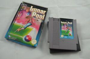 Lunar Pool NES Spiel CIB #1043