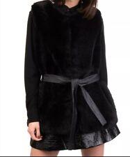 Anna Rachele Sleeveless Faux Fur Gilet Size Large-Retail $255