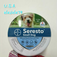 Bayer Seresto Flea and Tick Collar for Small Dog,8 Months Protection Fast Ship