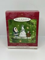FROSTY FRIENDS: CHRISTMAS TREE (#22 in series), Hallmark Ornament, 2001