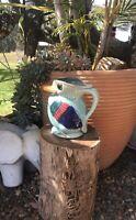 Vintage Ceramic Kingfisher/kookaburra Jug