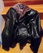 Thick Fleece PU Leather Jacket