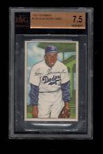 1952 Bowman BB Card #128 Don Newcombe Brooklyn Dodgers BVG NM+ 7.5 !!!!!