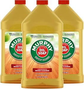 Murphys Oil Soap Original Wood Cleaner,32 Oz. Pack Of 3