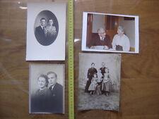 Lot PHOTO portraits de couples homme femme man woman VINTAGE