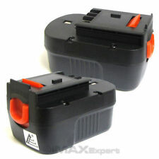 2 x 14.4 VOLT BATTERY for Black & Decker, Firestorm 14.4V Battery 2.0AH NI-CD