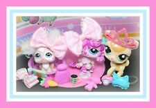❤️Authentic Littlest Pet Shop LPS 2485 2486 2487 SLEEPY TAILS Deer Bunny Dog❤️
