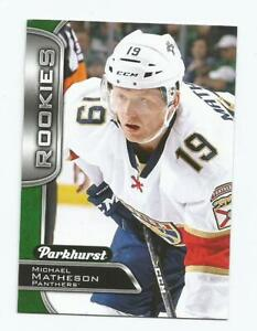 2016-17 Parkhurst Rookie Card - Micheal Matheson - Pittsburgh Penguins