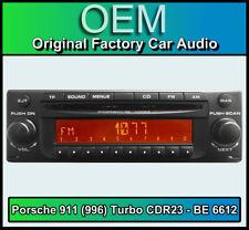 Porsche 911 (996) Turbo CDR23 Becker BE 6612 CD player Plug & Play, stereo