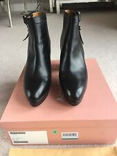 Acne Studios Orbit Black Leather Ankle Boots Size 41. Used Once.