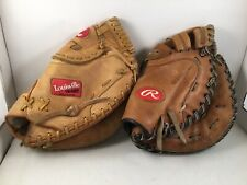 """2 RAWLINGS RFPCMS Louisville Slugger Gtps204 12"""" Fastpitch Softball Glove Mitts"""