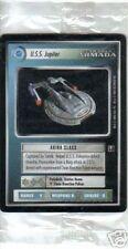 Star Trek CCG 1E PROMO USS Jupiter Armada SEALED