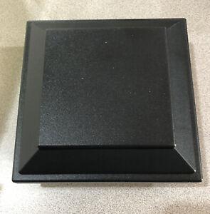 "Trex PBKSQCAP4x4 Post Sleeve Cap Charcoal Black 4"" x 4"" Inch flat top"
