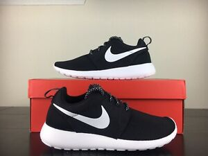 New Nike Roshe One Women's Shoes Black White [844994-002] Size 9 Gym Air Max
