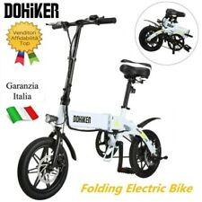 DOHIKER Bici Bicicletta Elettrica Pieghevole E-bike 250W Moped Bicycle 25KM/H EU