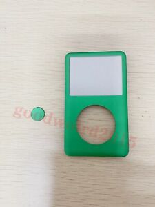 green Front Faceplate Housing Cover+center button for iPod classic 7th gen 160GB