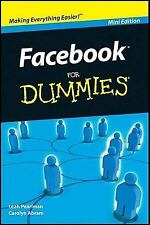 NEW FACEBOOK For Dummies, Mini Edition/Pocket Size/Cliff Notes Version