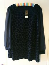 Ladies Top Size 16 Bnwt
