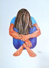 Peter Mertvago Arobic Girl Poster Kunstdruck Bild 70x50cm - Kostenloser Versand