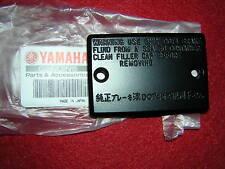 Yamaha RD350LC YPVS Master Cylinder Reservoir Cap. Gen.Yam. New (ba18)