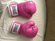 12 oz Pink Everlast Women's Advanced Training Boxing Gloves