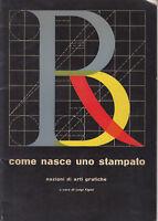 Luigi Figini design tipografia come nasce uno stampato nozioni arti grafiche