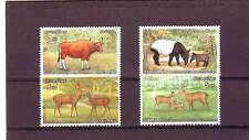 a124 - THAILAND - SG913-916 MNH 1976 PROTECTED WILD ANIMALS - 2nd SERIES