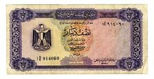 Libya ... P-34 ... 1/2 Dinar ... ND(1972) ... *F*