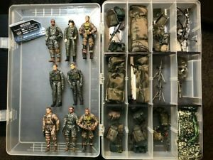 Bbi Elite Force 1:18 Mixed Paratrooper figures LOT OF 8 WITH ACCESSORIES
