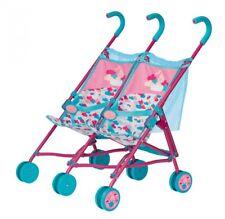 Zapf BABY born® Twin Stroller Zwillings Puppenwagen, NEU & OVP