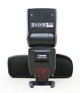 # Canon Speedlite 580EX II Shoe Mount Flash S/N 031590