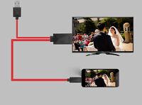 2M Micro USB a HDMI Mhl 1080P Adaptador de Cable para Samsung Galaxy S5 S4 S3
