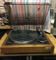 SONY PS-5520 BELT DRIVE TURNTABLE with Manual
