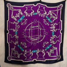 688e8b99cf93 BNWT HERMES foulard Mors et gourmettes Cachemire Soie 140 X 140 Equestrian