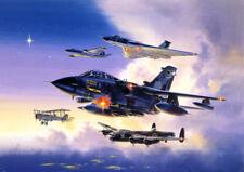Panavia Tornado Avro Vulcan Lancaster Canberra RAF Plane Blank Birthday Card