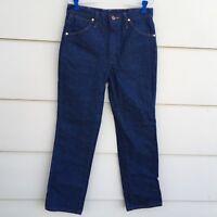 Wrangler Jeans Cowboy Blue 936DEN Mens Tag 31 X 31 Measures 30 x 31