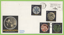G.B. 1989 Microscopes set Royal Mail First Day Cover, Blood Transfusion