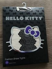Hello KItty Fashion Sheer Tights-Size S/M-Free Shipping-New In Package