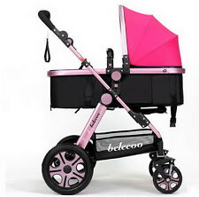 Newborn Child Baby Carriage Foldable Travel Stroller Buggy Pushchair Pram QWE