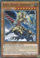 King Beast Barbaros - ETCO-EN030 - Common - 1st Edition x3 - Near Mint