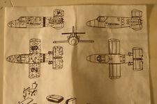 Germany Bachem Ba 349 B Natter, 1/72 Airmodel Vacuform kit, Model Airplane Kit
