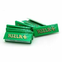 1//5/10/20/50/100 Rizla Green Regular Size Rolling Papers - Fast Free Delivery