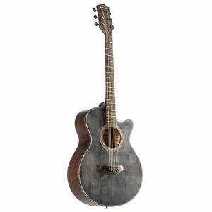 Red Hill Westerngitarre, Akustik-Gitarre für Anfänger und Einsteiger, 3/4 Gitarr