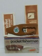 Vtg 1972 Popeil's Pocket Fisherman Spin Casting Outfit With Original Box Unused?