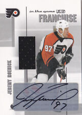 03-04 ITG Used Jeremy Roenick /10 Auto Jersey Franchise Flyers In The Game 2003